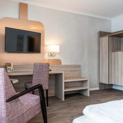 Doppelzimmer neu Ausstattung