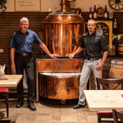 Familie Frommann mit Brauerei